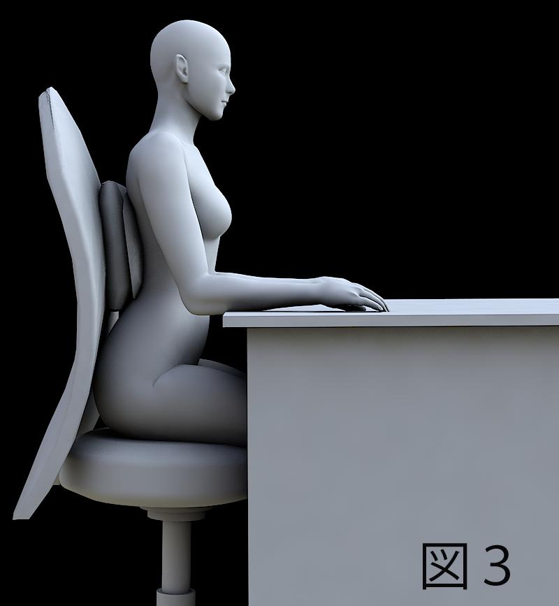 椎間板にやさしい座り方